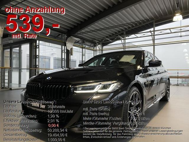 BMW 5er - 520d Limousine SONDERAKTION BIS 30.01.2021