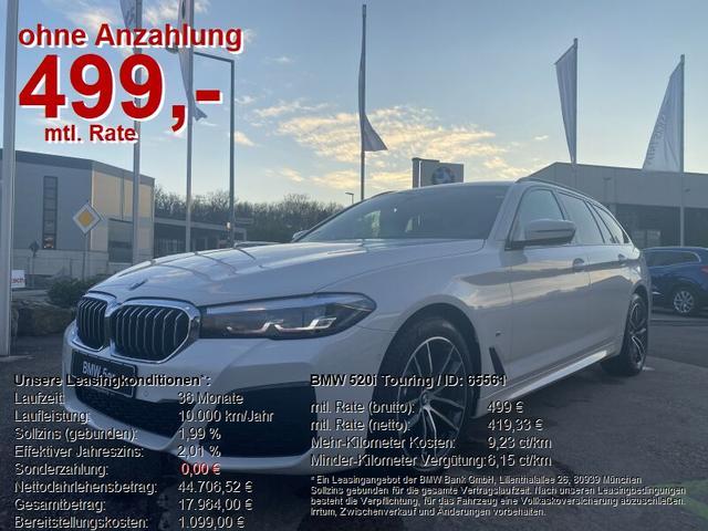 BMW 5er Touring - 520i SONDERAKTION BIS 30.01.2021