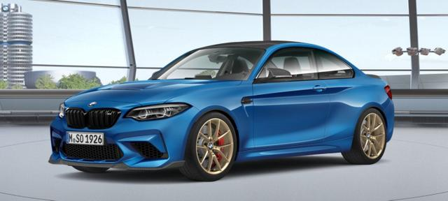 BMW M2 - CS MISANO BLAU. LIMITED. 450PS. BE THE FIRST.