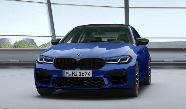 BMW M5 - COMPETITION. BLUE. LASER. BOWERS. BREMSE ROT.