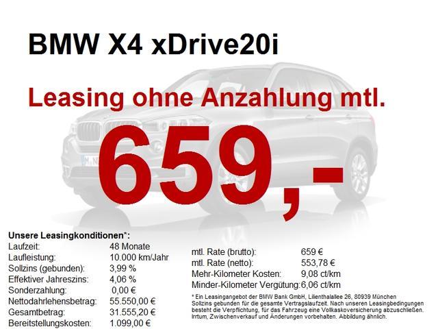 BMW X4 xDrive20i M Sport 20/BusinessPackage/ParkingA