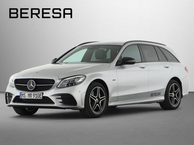 Mercedes-Benz C-Klasse - C 300 e AMG Burmester Fahrassist. Night LED AHK