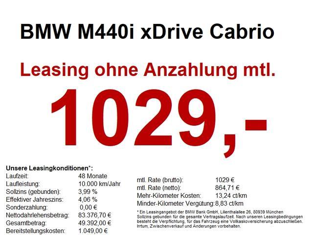 BMW M4 40i xDrive Cabrio