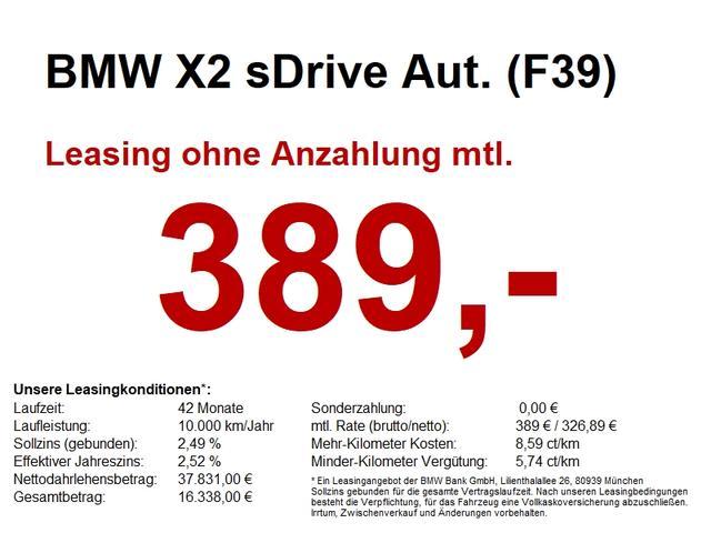 BMW X2 sDrive Aut. (F39) M Sport NAVI PLUS.AUT.