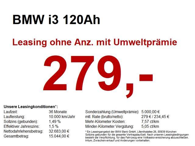 BMW i3 120Ah NAVI PROF..GLASDACH