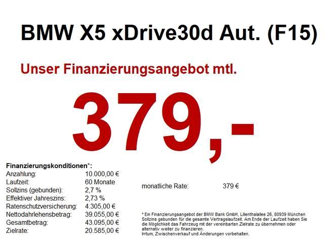 BMW X5 - xDrive30dA (F15) M Sportpaket NaviPro.HUD.AHK