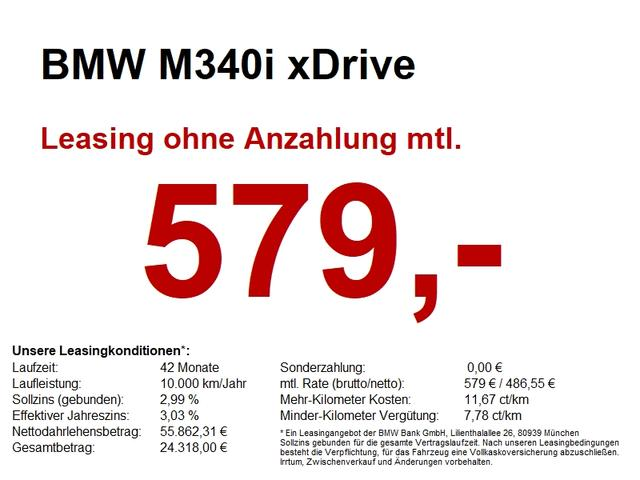 BMW M3 M340i xDrive LASER/HuD/LiveProf/MEMORY
