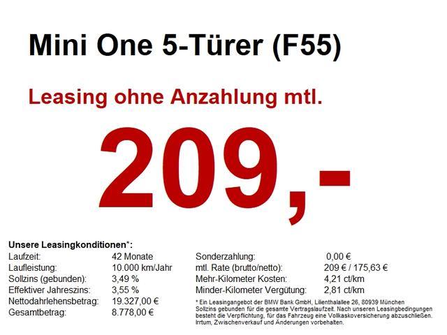 Mini One 5-Türer (F55) NAVI.SH.PDC