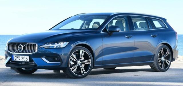 Volvo V60 - D4 190 R-Design LED Nav ACC ParkP Kessy