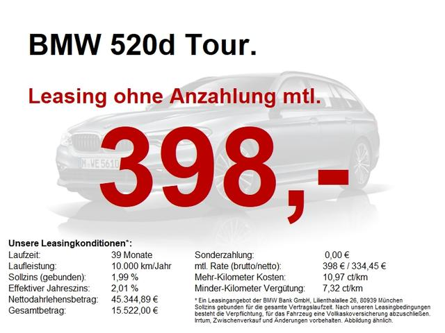 BMW 5er 520d Tour. Luxury Line HuD Panorama Kamera ACC
