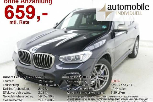 BMW X3 M40i AHK LiveCockpit HuD HiFi