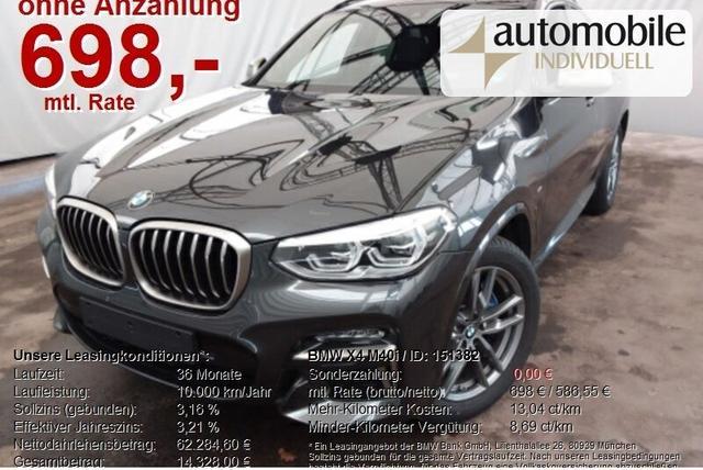 BMW X4 M40i AHK ACC LED Standh LiveCockpit