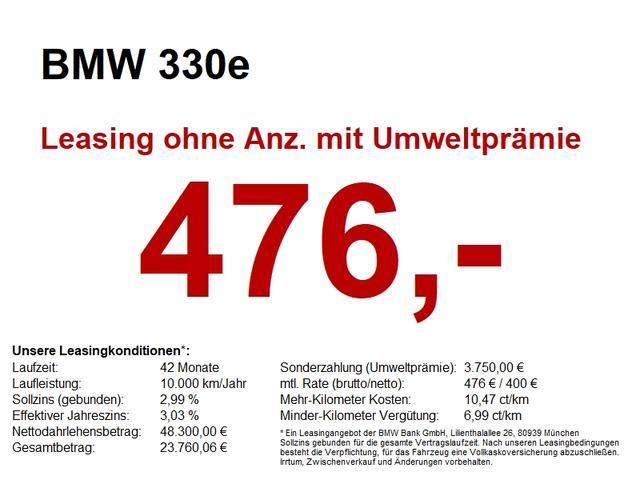BMW 3er 330e M Sport AHK/LASER/HuD/LivePro/GESTIK/ALARM