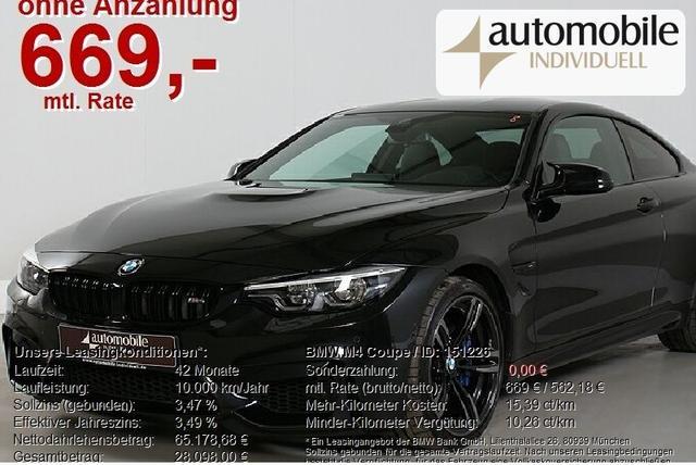 BMW M4 - Coupe Competition LED Navi HuD V-Max