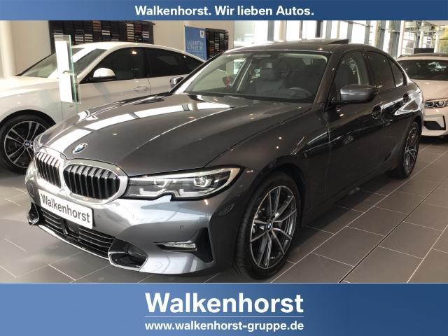 BMW 3er 330 i Sport Line EU6d-T DAB Navi LED PDC AHK 18'' Glasdach