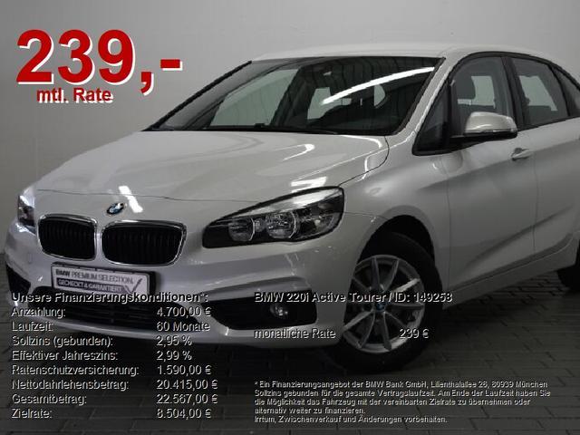 BMW 2er Active Tourer - 220i  WIR SIND FÜR SIE DA