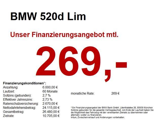BMW 5er - 520d Lim Stop&Go.Navi.Durchlade