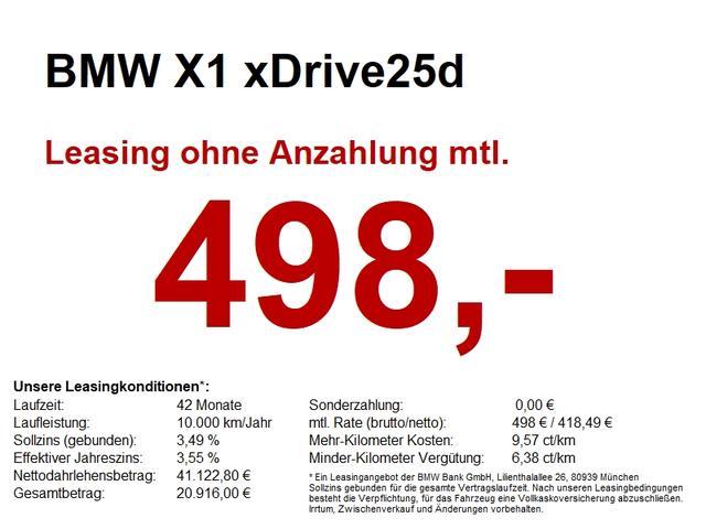 BMW X1 xDrive25d M Sport AHK/HuD/NaviPlus/CAM/harman