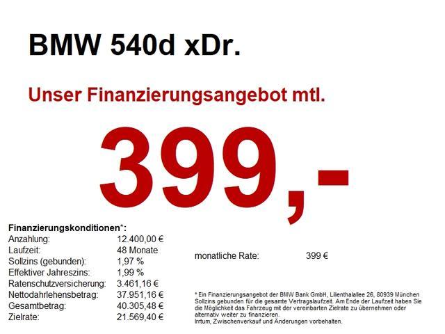 BMW 5er - 540d xDr. M Sport HuD/CAM/SH vo hi/LHZ/SoftClose
