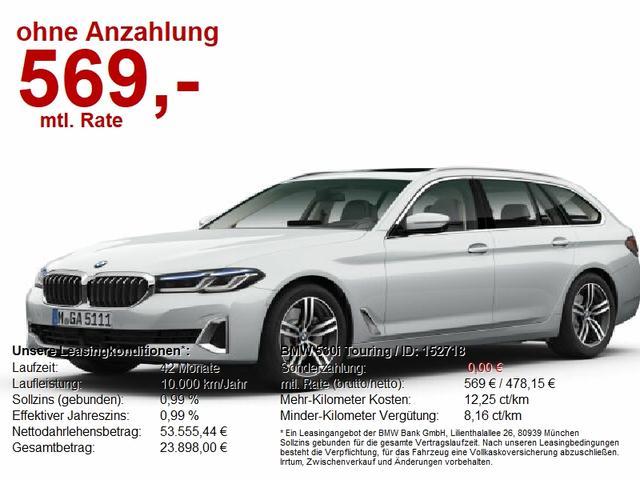 BMW 5er Touring - 530i Luxury Line Laser DAP LiveCockpProf