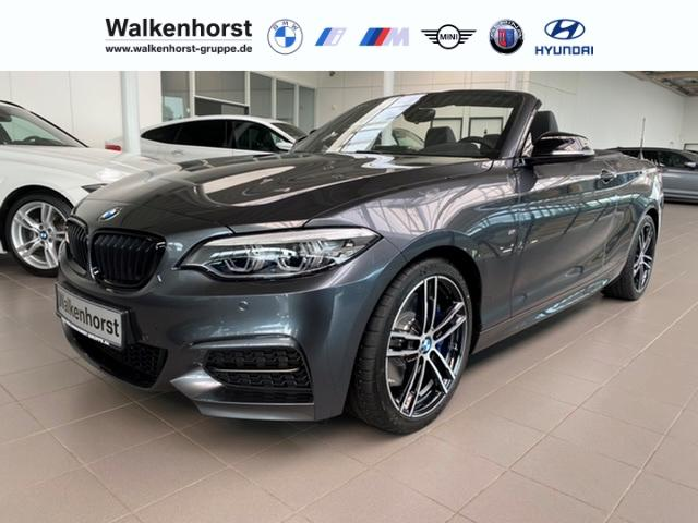 BMW M2 M240i Cabrio HarmanKardon adapt LED Rückfahrkam NavigationProf SpeedLimit