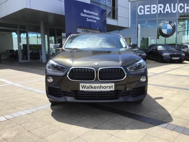 BMW X2 - sDrive 18 d Advantage EU6d-T, LED, Rückfahrkamera, Navi, Panoramadach