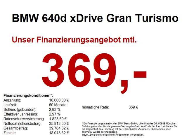 BMW 6er - 640d xDrive Gran Turismo M Sport Massagesitze