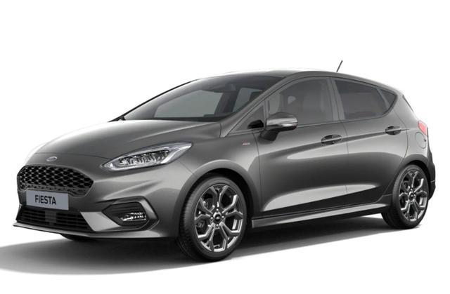 Ford Fiesta - 1.0 EcoBoost 125 DCT MHEV ST-Line LED Nav