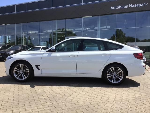 BMW 3er 320 Gran Turismo d Sport Line EU6d-T Aut Navi LED HuD AHK
