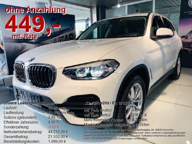 BMW X3 - xDrive20d ADVANTAGE Business-P/Sportsitze