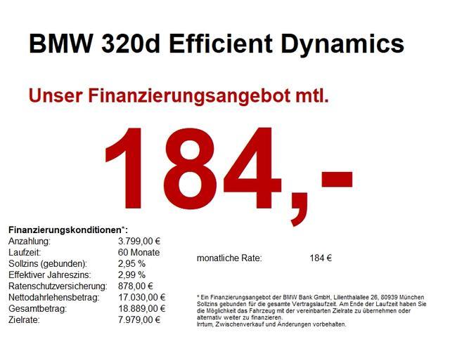 BMW 3er - 320d Efficient Dynamics AUT..LED.NAVI PROF.