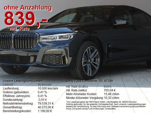 BMW 7er - 730d Limousine M Sportpaket