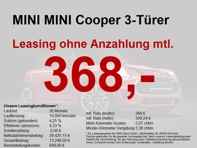 Mini Cooper 3-Türer ++ Lagerwagen-Aktion++