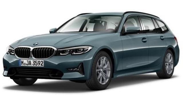 BMW 3er 320 i Sport Line Touring EU6d Klima Navi LED Keyless HUD Parklenkass.