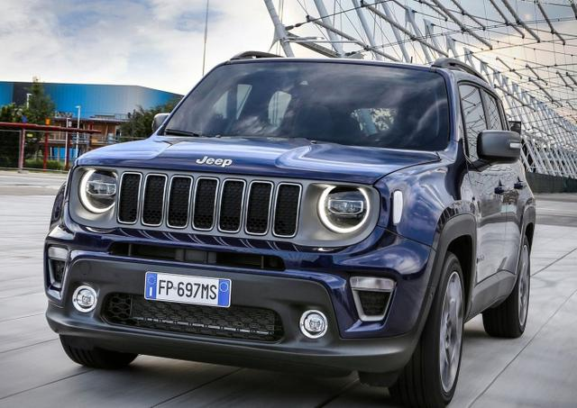 Jeep Renegade - 1.3 T-GDI 150 Limited LED SHZ ACC PDC
