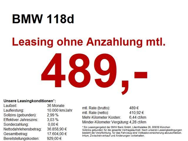 BMW 1er 118d Sport Line
