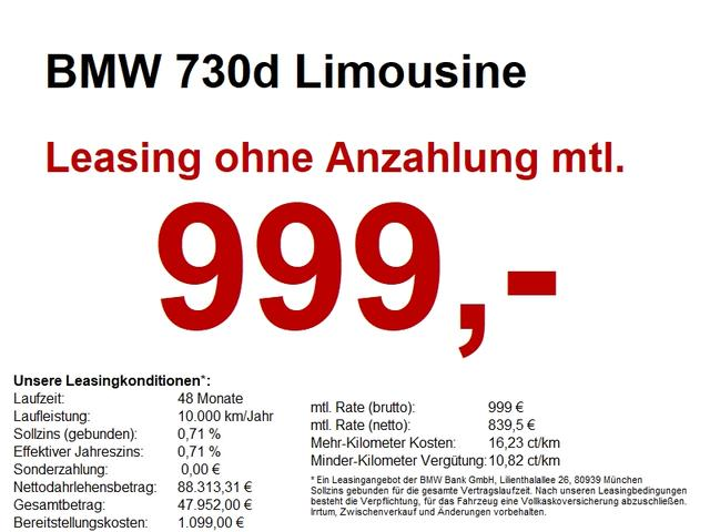 BMW 7er 730d Limousine M Sportpaket