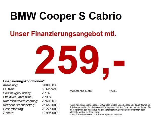 Mini Cabrio - Cooper S