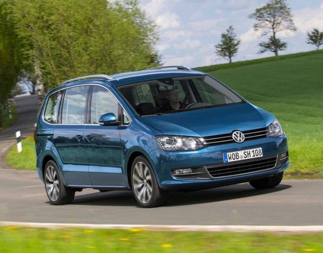 Volkswagen Sharan - 2.0 TDI 140 Highline 7-S Xenon Pano eHk