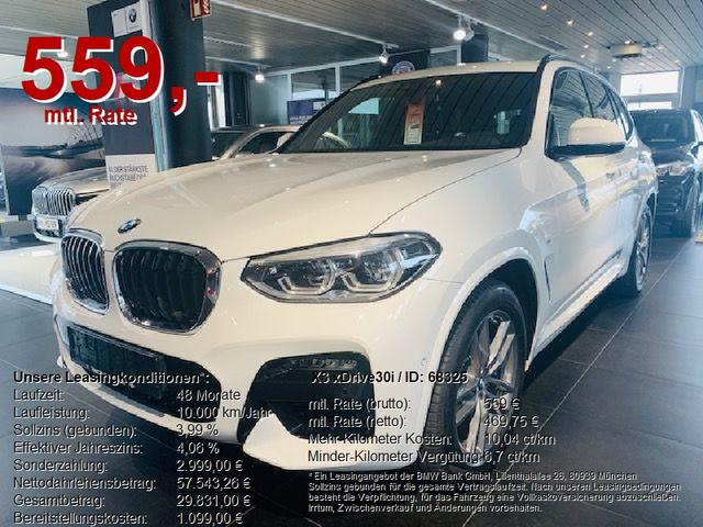 BMW X3 xDrive30i M-SPORT AHK/Business-Package