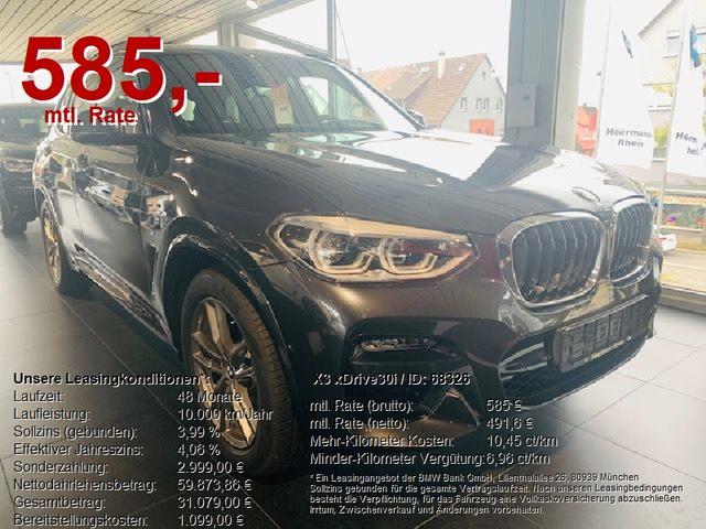 BMW X3 xDrive30i M-SPORT AHK/Business-P Professional