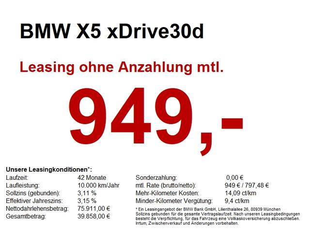 BMW X5 - xDrive30d M Sportpaket  SUPER AUSSTATTUNG