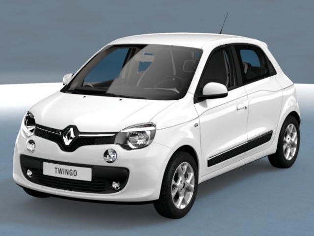 Renault Twingo Life SCe 70 Radio/Klima/Bluetooth Weiß metallic
