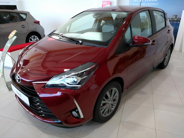 Toyota Yaris - Comfort   Pack Y-CONIC