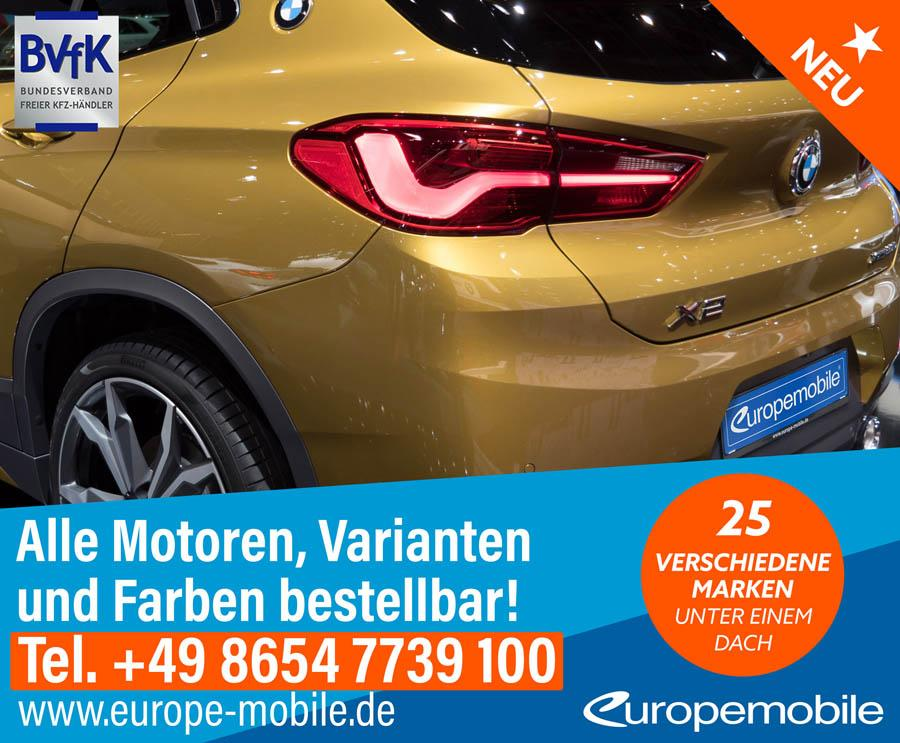 BMW X2 M Sport X xDrive20d Steptronic (D9) von Europemobile