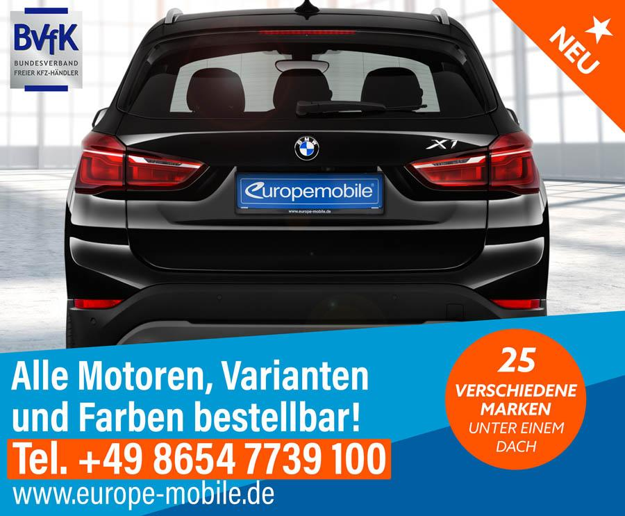 bmw x1 sport line sdrive18i 140 euro 6d temp d9. Black Bedroom Furniture Sets. Home Design Ideas
