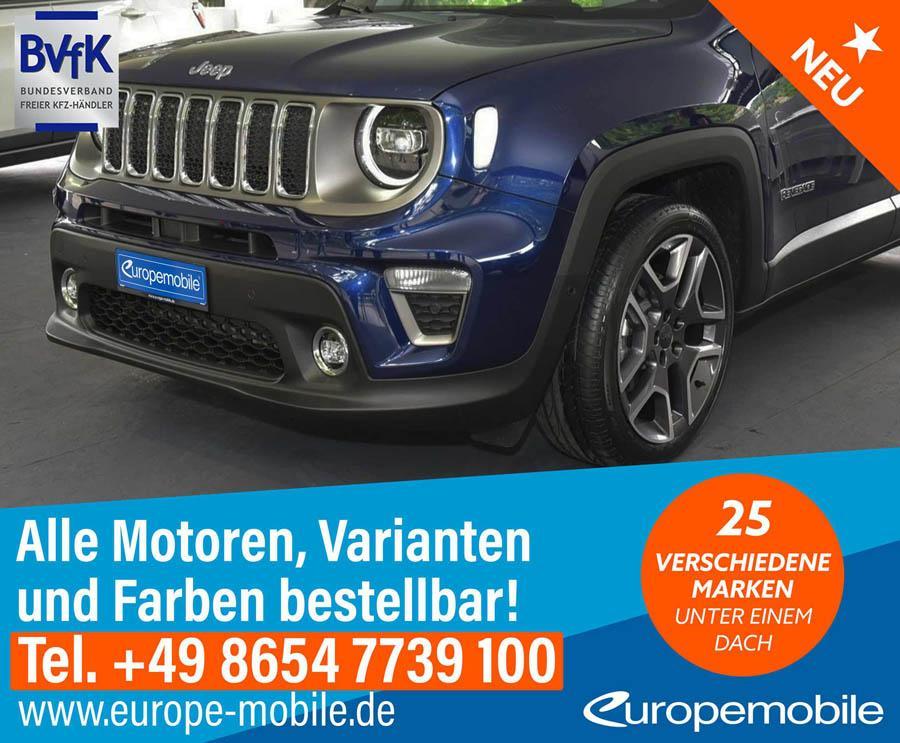 jeep renegade der kompakte offroader automagazin europemobile. Black Bedroom Furniture Sets. Home Design Ideas