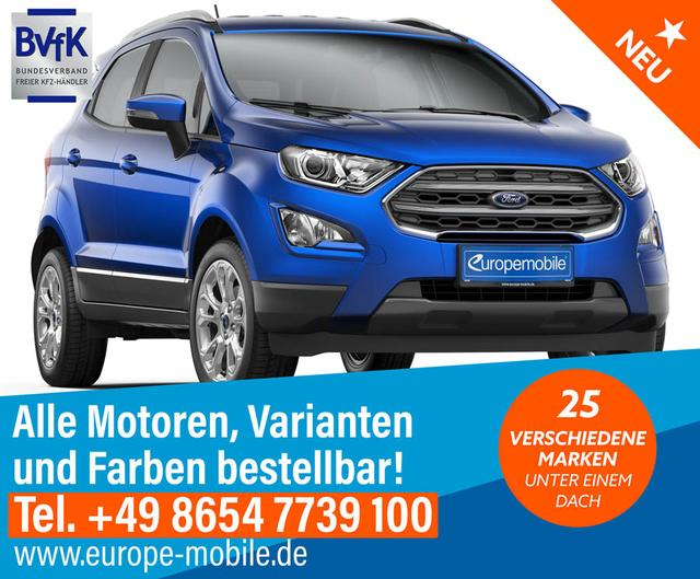Ford EcoSport - Cool & Connect 1.5 EcoBlue 125 Euro 6d-Temp (D6)