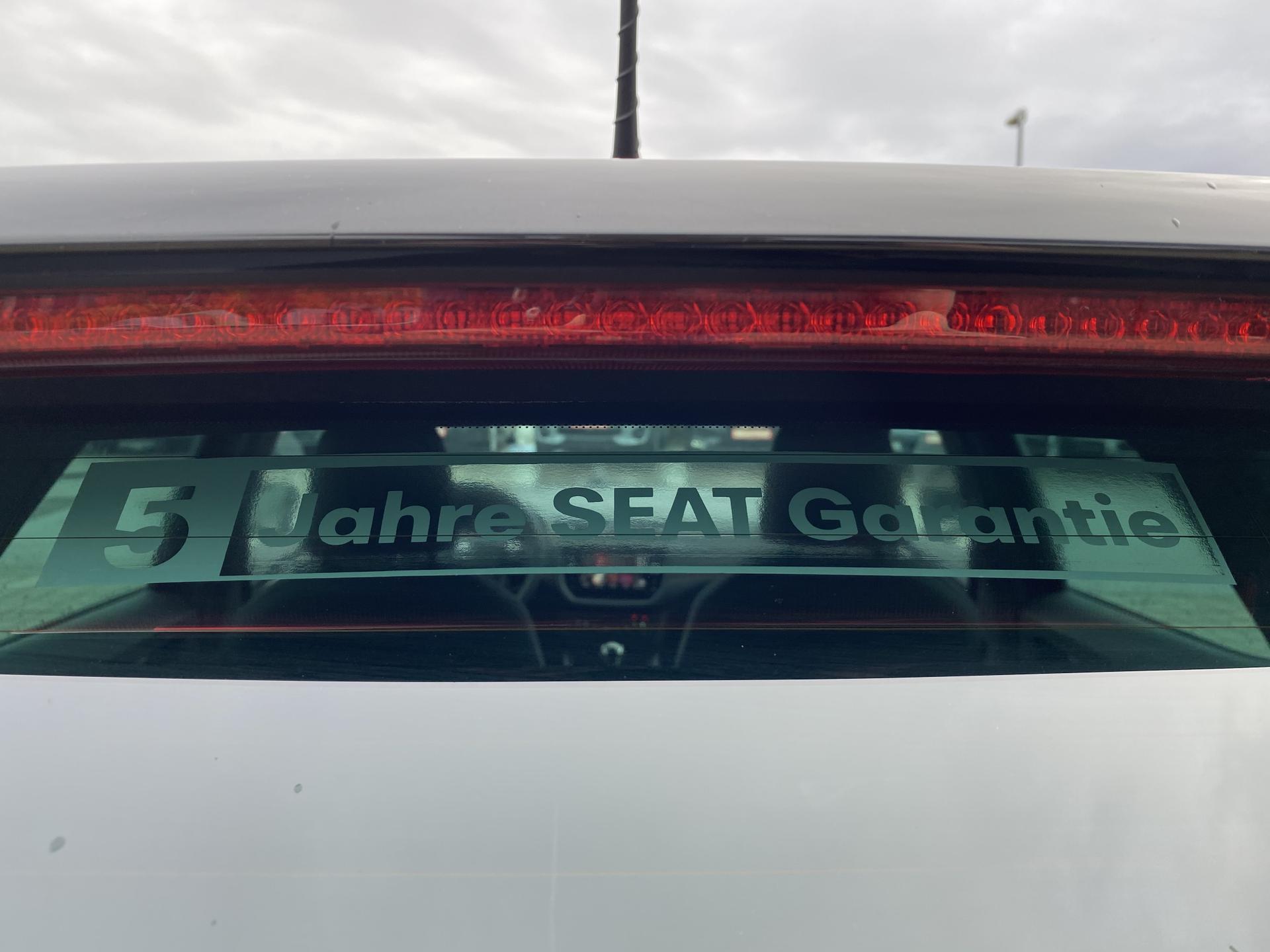 Seat 5 Jahre Garantie