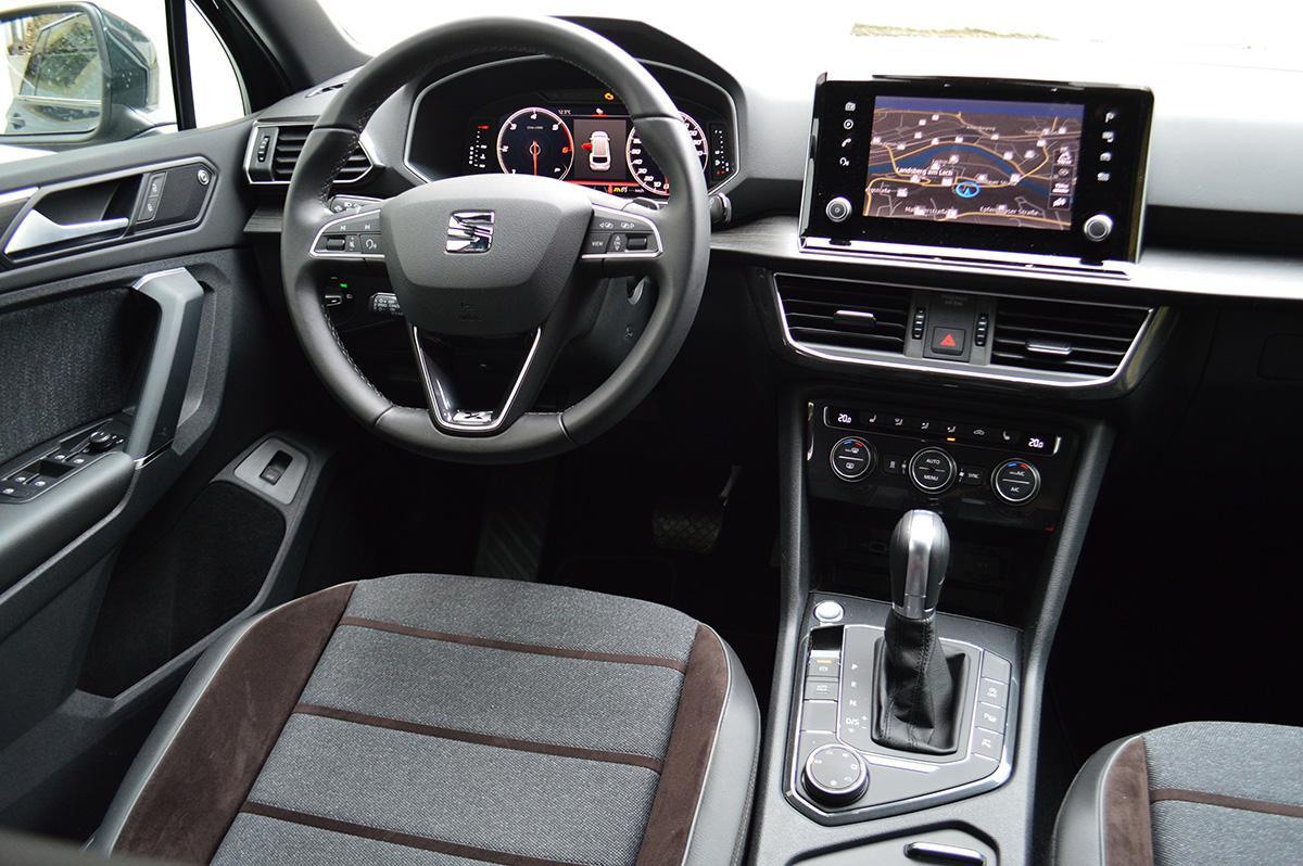 SEAT Tarraco 2.0 TDI 4Drive 190 PS DSG Interieur